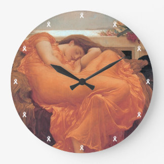 Flaming June  Wall Clock