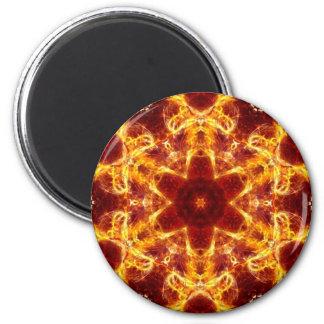 Flaming Lotus Magnet