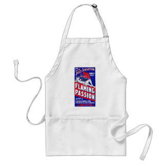 Flaming Passion Aprons