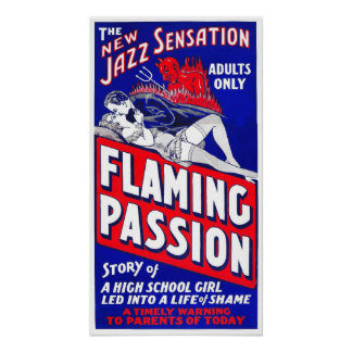Flaming Passion Poster