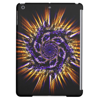 Flaming pinwheel iPad Air case