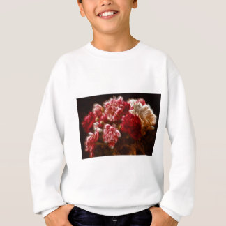 Flaming Red Peony Flower Bouquet Sweatshirt