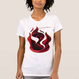 Flaming rose T-Shirt
