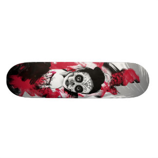 Flaming Rubies Inc. Day of the Dead Skateboard