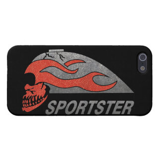 Flaming Skull Tank iPhone 5/5S Cases