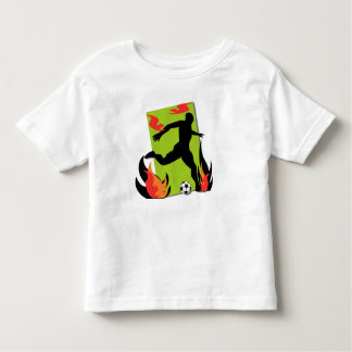 Flaming Soccer T shirts and Gifts