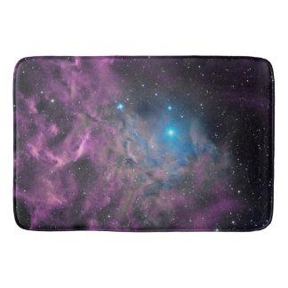 Flaming Star Nebula Bath Mat