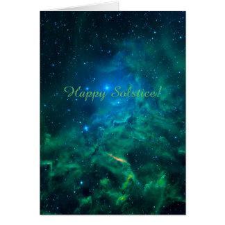 Flaming Star Nebula Card