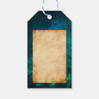 Flaming Star Nebula Gift Tags