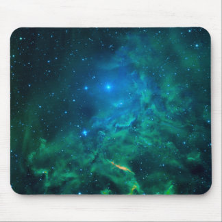 Flaming Star Nebula Mouse Pad