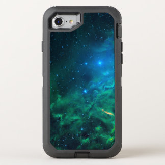 Flaming Star Nebula OtterBox Defender iPhone 8/7 Case