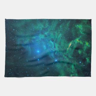 Flaming Star Nebula Tea Towel