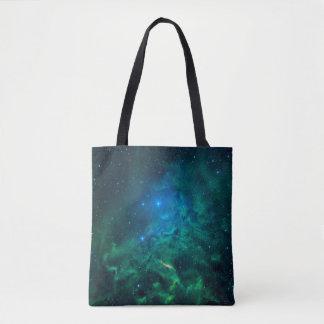 Flaming Star Nebula Tote Bag