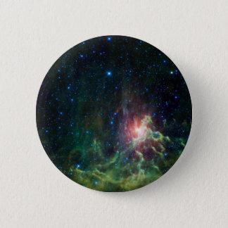 Flaming Star Runner NASA 6 Cm Round Badge