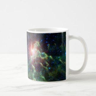 Flaming Star Runner NASA Coffee Mug