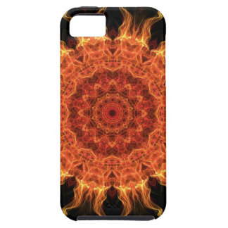 Flaming Sun Tough iPhone 5 Case