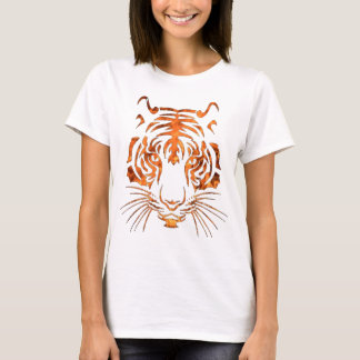 Flaming tiger T-Shirt