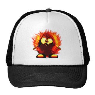 Flaming Tux (Penguin Torch) Cap