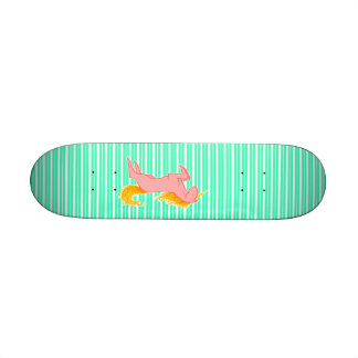 Flaming Unicorn Skateboards