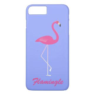 Flamingle Flamingo iPhone 7 Plus - purple iPhone 7 Plus Case