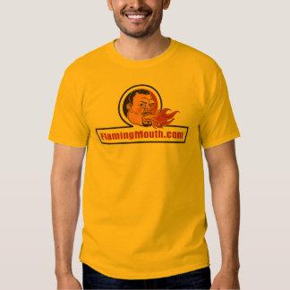 FlamingMouth Large Logo Shirts