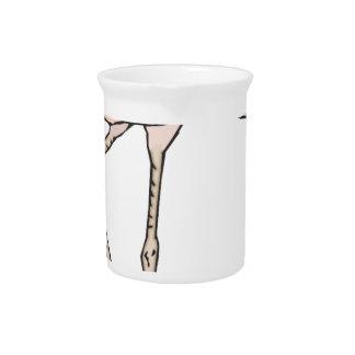 Flamingo #10 pitcher