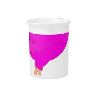 flamingo #12 pitcher
