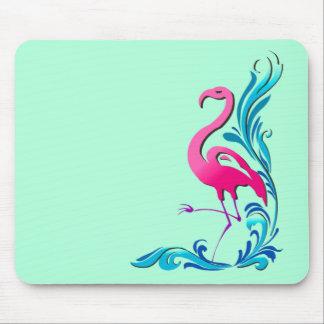 Flamingo 1 mouse pad