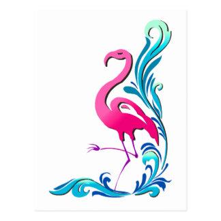 Flamingo 1 postcard