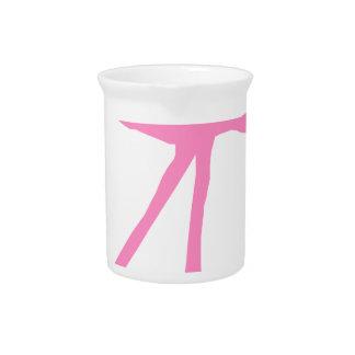 flamingo #8 pitcher