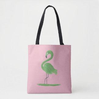 Flamingo Artwork Tote Bag