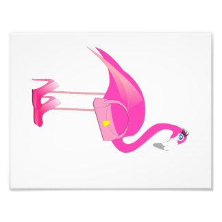 Flamingo Baby Girl Room Print (3 of 4) Art Photo