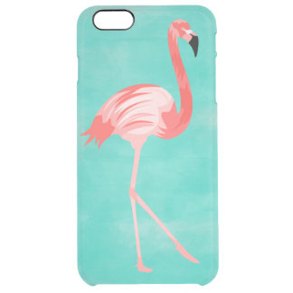 Flamingo Bird Clear iPhone 6 Plus Case