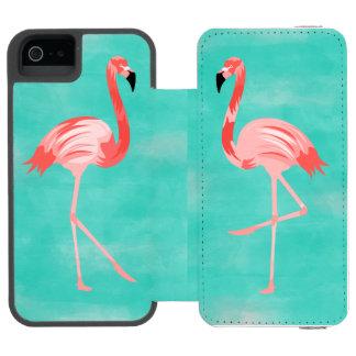 Flamingo Bird Incipio Watson™ iPhone 5 Wallet Case