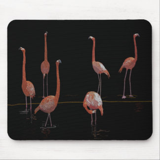Flamingo Bird Mouse Pad