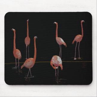 Flamingo Bird Mouse Pad