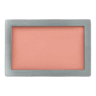 Flamingo Coral Peach Melon-Uptown Girl-Designer Belt Buckles