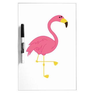 Flamingo Dry Erase Board