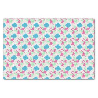 Flamingo Fun Tropical Pattern Tissue Paper
