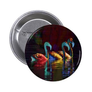 Flamingo Gifts Buttons