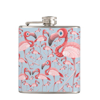 Flamingo Hip Flask