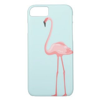 Flamingo iPhone 7, Barely There Phone Case