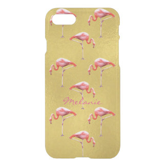 Flamingo iPhone 7 Clearly™ Deflector Case