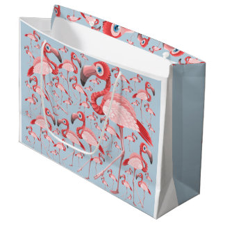 Flamingo Large Gift Bag