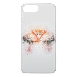 Flamingo Love iPhone 8 Plus/7 Plus Case