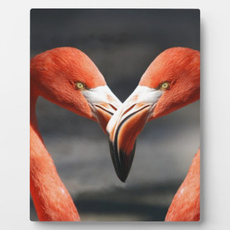 Flamingo Love Plaque