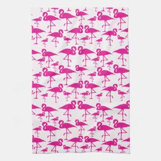 Flamingo Love Towel