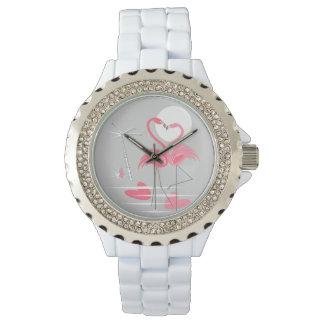 Flamingo Love watch