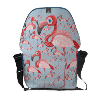 Flamingo Messenger Bags
