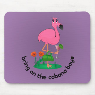 Flamingo Mouse Pad